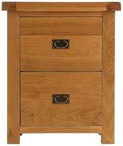 Alton Oak Filing Cabinet