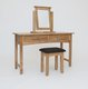Hereford Oak Console Dressing Table 110997450489511