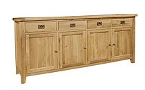 Chiltern Grand Oak 4 Door Sideboard
